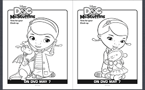 free doc mcstuffins coloring pages