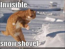 Memes About Snow - invisible snow shovel cheezburger funny memes funny pictures