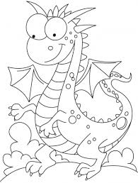 comparatively kind dragon coloring pages download free