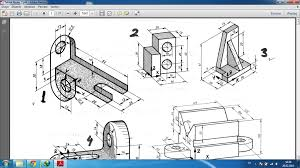 pdf example 3d drawing 250 pcs for beginners solidworks 3d