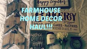 Home Goods Art Decor by Farmhouse Home Decor Haul Hobby Lobby Home Goods And More Youtube