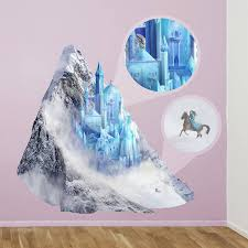 princess ice castle wall sticker by oakdene designs princess ice castle wall sticker