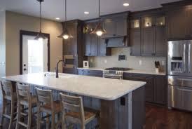espresso kitchen cabinets with white countertops 6 design ideas to pair espresso cabinets with white