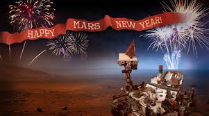 nasa happy martian new year