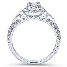 vintage halo engagement rings vintage engagement rings gabriel co