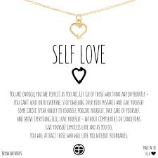 necklace love images Self love arrow heart dainty necklace jpg