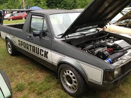 volkswagen rabbit pickup volkswagen caddy pick up at southern worthersee humble mechanic