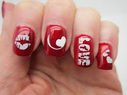 red white and pink nail art designs zestymag