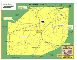 Tennessee Map Of Counties by Madison County Tennessee Century Farms