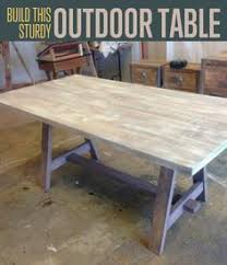 Free Woodworking Plans Patio Table by Free Woodworking Plans To Build A Fabulous Folding Table The