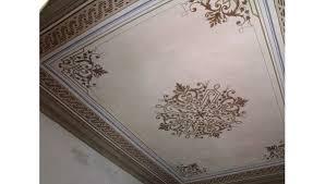 soffitti dipinti dipinti restauro soffitti decorati torino ocrarossa