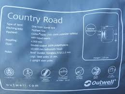Outwell Country Road Awning Campervan Awning Outwell Country Road In Worthing Expired
