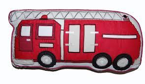 fire truck halloween basket cozy line home fashion fire truck decorative cotton throw pillow
