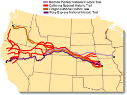 map of oregon 2 national trails system program oregon national historic trail