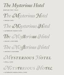 hoefler text font features grand italics hoefler co