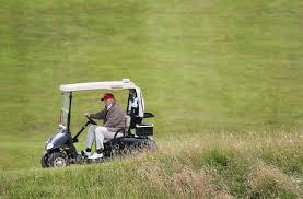 donald s strange scottish golf course promotion trip time