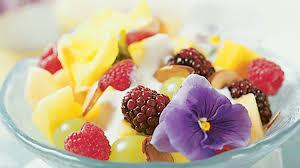 fruit and flower salad recipe vegetarian times