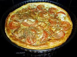 recette de cuisine salé recette de tarte salée à la tomate
