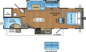 Jayco Jay Flight Floor Plans by Jayco Jay Flight 29bhds 2017 Roulottes Desjardins