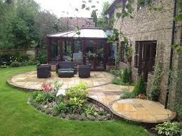 Best  Stone Patio Designs Ideas On Pinterest Paver Stone - Backyard designs images
