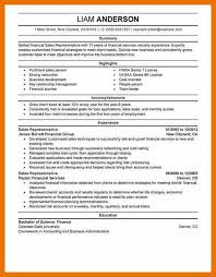 Resume Templates Sales 7 Sales Representative Resume Templates Budget Reporting