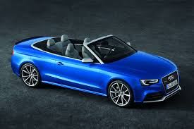 audi 4 door convertible new audi rs5 cabriolet convertible pictures and details