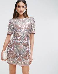 embellished dress asos edition asos carpet premium showtank embellished shift