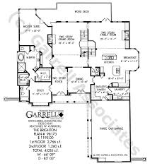 courtyard style house plans brighton house plan house plans by garrell associates inc