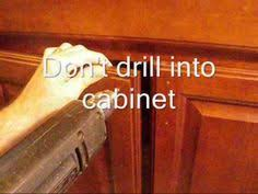 cabinet hardware drilling jig make a simple jig for marking and drilling cabinet door for knobs