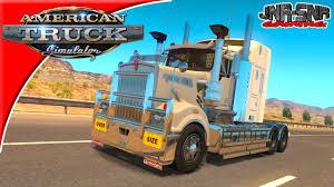 American Truck Simulator Kenworth T908 Mod Review Youtube