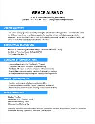 resume sle for fresh graduate accounting pdf sle resume format for fresh graduates two page new graduate