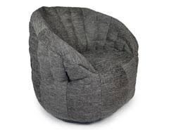 large bean bag chair premium grey interior bean bags