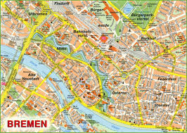 Google Map Germany by Bremen Sightseeing Map