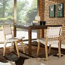 dining room astonishing woven dining room chairs which is