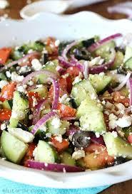 cucumber greek salad recipe