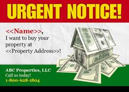 10 brilliant real estate investor postcard advertising examples