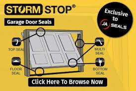Garage Door Strip Seal by Brush Strips Ja Seals