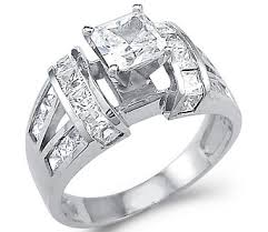 cubic zirconia white gold engagement rings cubic zirconia and white gold engagement rings special discount