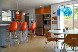 modern orange bar stools diverse beautiful modern ideas on mid century modern bar stools