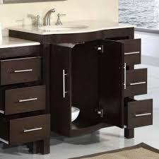 Dark Wood Bathroom Storage by Bathroom Cabinets Handles Benevolatpierredesaurel Org