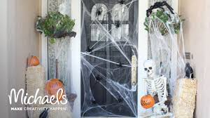 Michaels Decor Halloween Porch Decor Darby Smart Michaels Youtube