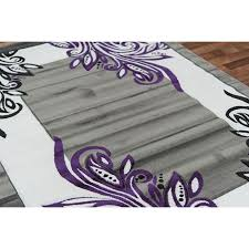 Black And Purple Area Rugs Purple And Black Area Rugs Bedroom Windigoturbines Black And