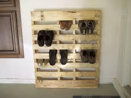 homemade shoe racks made of pallet idea decofurnish
