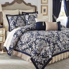 Best 10 Blue Comforter Sets by Home Decor Marvelous Croscill Bedding Plus Imperial Indigo Blue