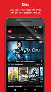 vodafone play live tv movies tv shows news android apps on
