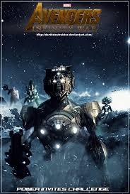 avengers infinity war fan made poster 4 by darthdestruktor on