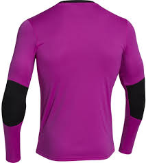 Under Armour Kids Clothes Under Armour Horizontal Long Sleeve Goalkeeper Jersey Purple