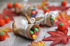 the craft patch thanksgiving desserts sugar cone cornucopia