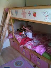 Fairy Princess Treehouse KURA Bunk Beds With STUVA Storage IKEA - Ikea bunk bed kura