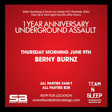 1 yr anniversary ra static after hours 1 yr anniversary with berny burnz at tba